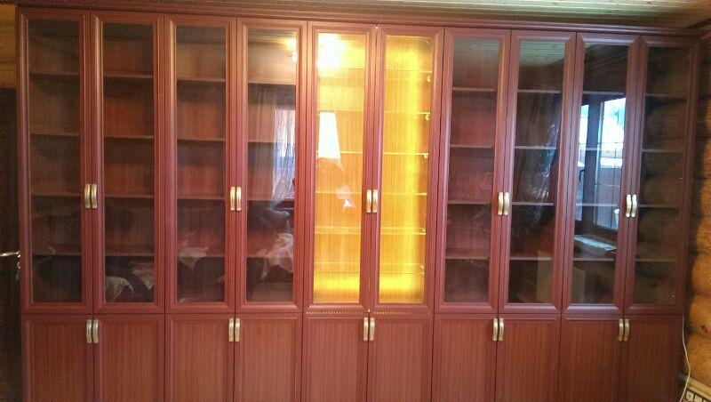 Книжные шкафы на заказ в москве.